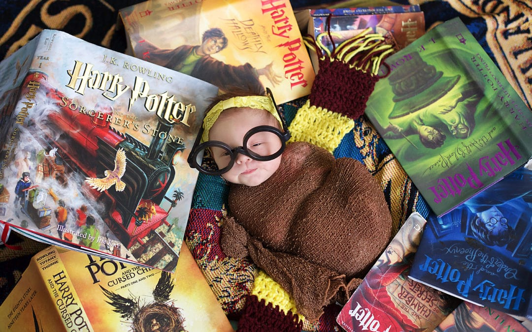 All Harry Potter Fans | Maine Newborn Photographer