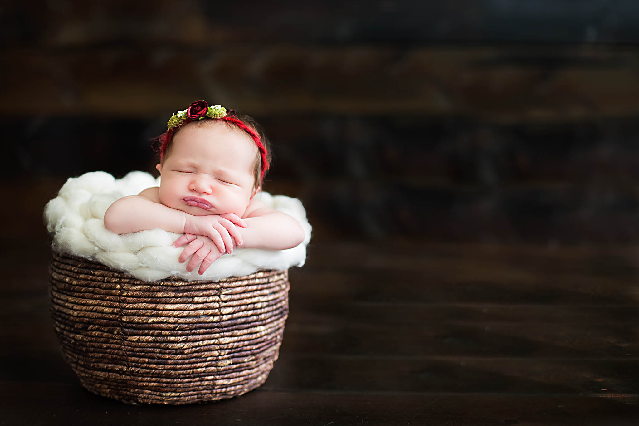 Baby girl photo session