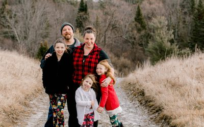 The Milville Family | Manchester, Maine Family Photography