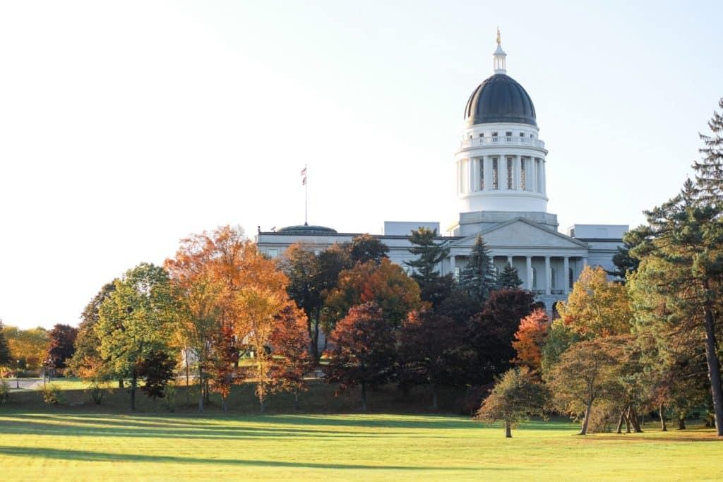 Augusta, Maine capitol