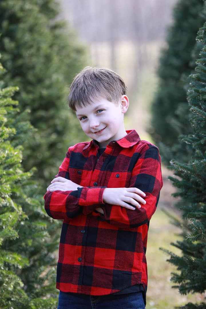 child christmas pictures in maine