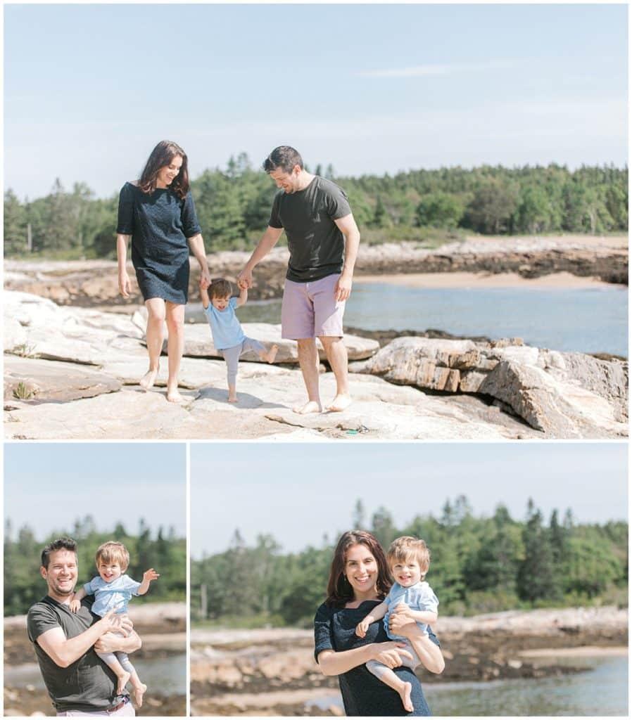 Maine Family Photographer, Reid State Park, Family Photography
