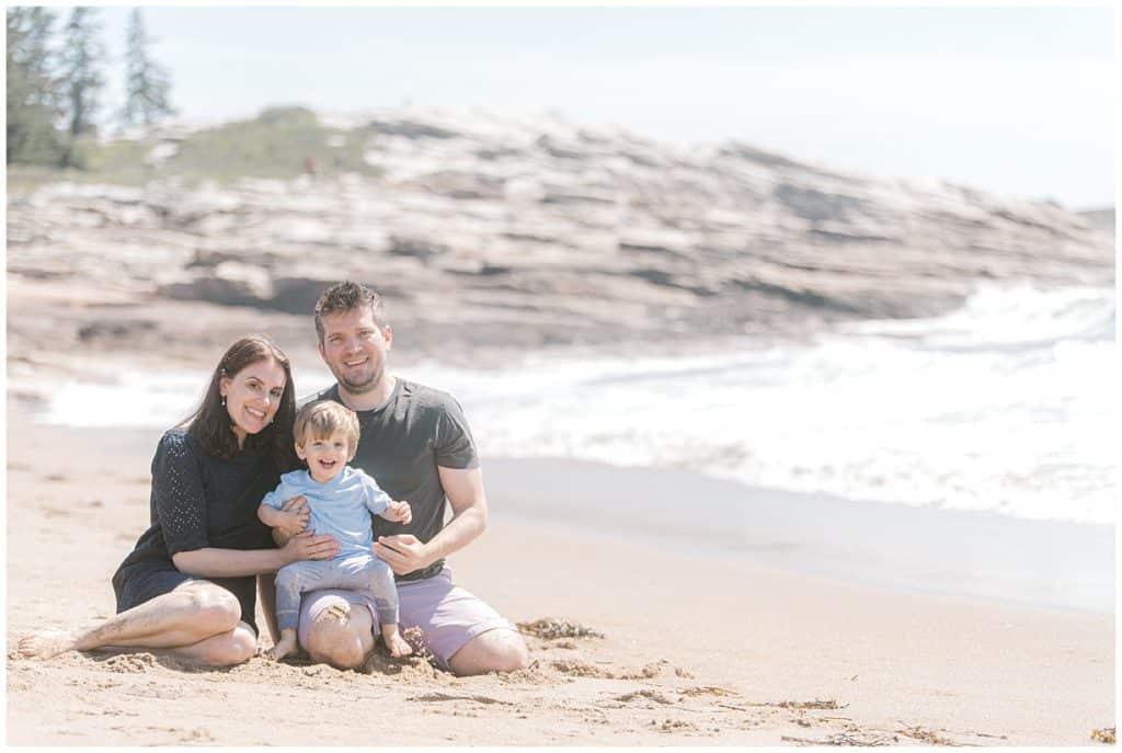 Maine Family Photographer, Family Beach photos, Reid State Park